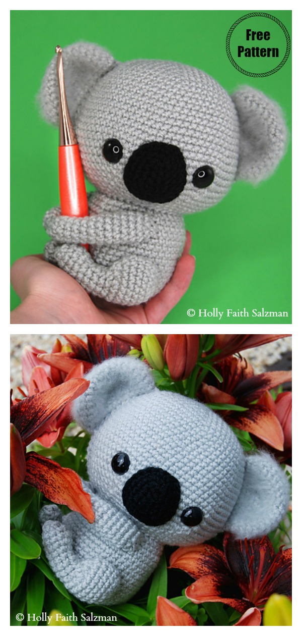 Amigurumi Koala Free Crochet Pattern