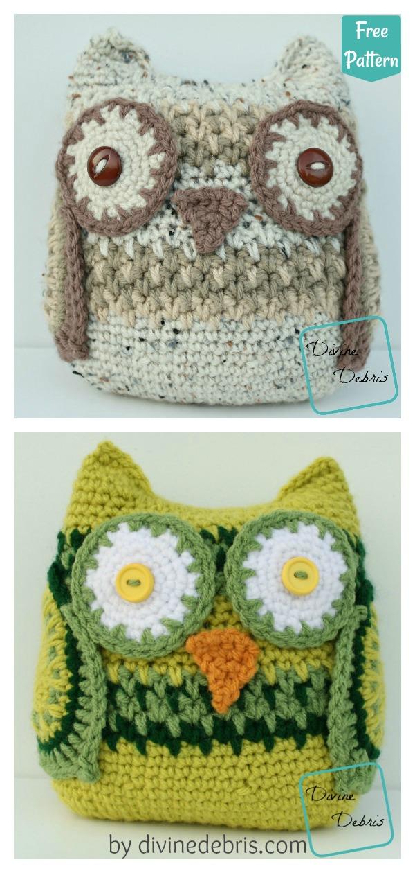 Amigurumi Wendy the Owl Free Crochet Pattern