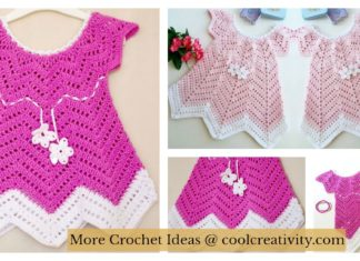 Baby Blossom Summer Dress FREE Crochet Pattern