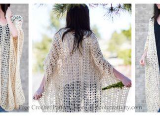 Casablanca Summer Poncho Free Crochet Pattern
