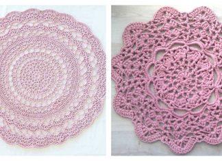 Chunky Monkey Rug Free Crochet Pattern