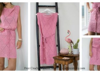 Diamond Dress Free Crochet Pattern