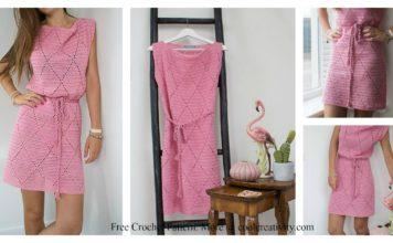 Diamond Dress Free Crochet Pattern