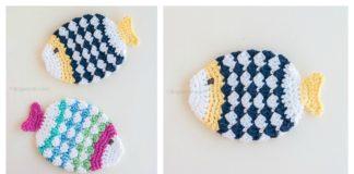 Fish Scrubbie Washcloths Free Crochet Pattern