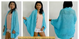Granny Stitch Easy Cardigan Free Crochet Pattern