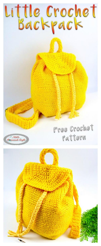 Little Backpack Free Crochet Pattern