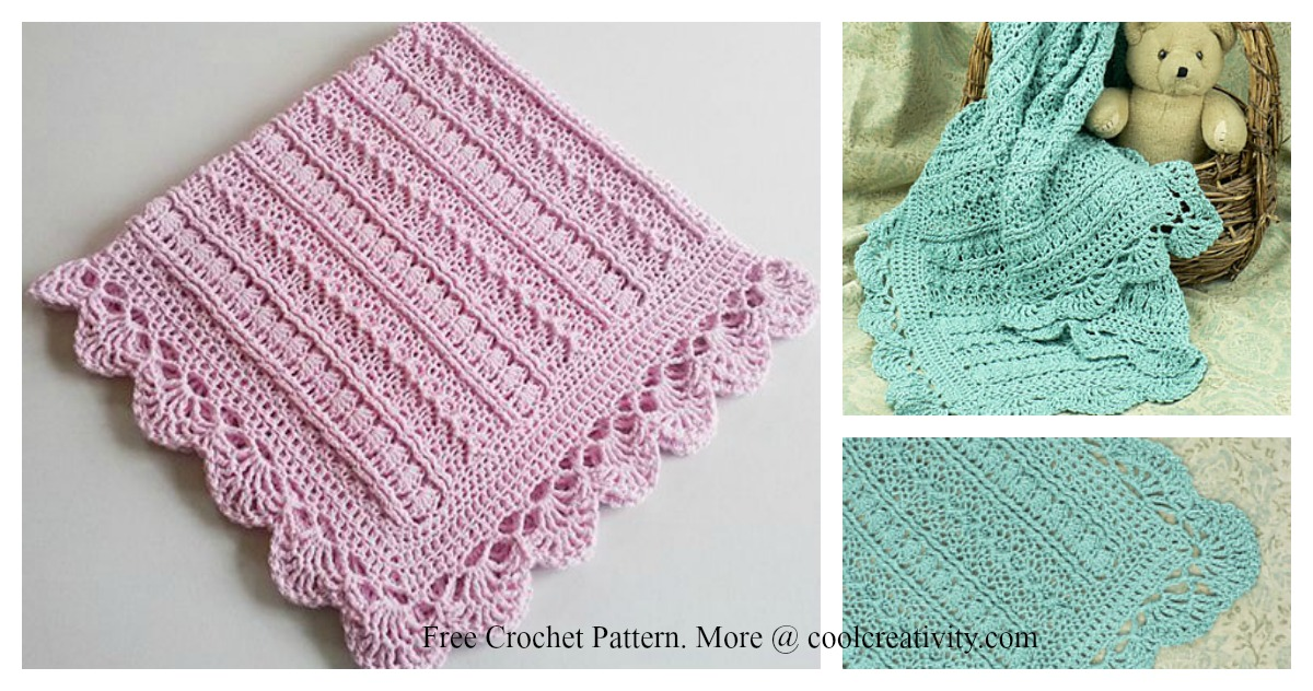 Mayflower Baby Blanket Free Crochet Pattern