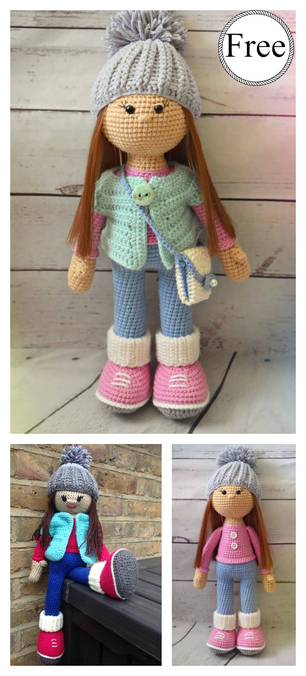Molly Doll Amigurumi Free Crochet Pattern