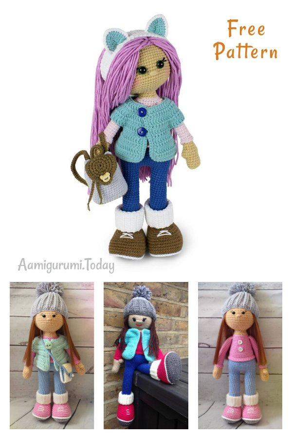 Molly Doll Free Crochet Pattern