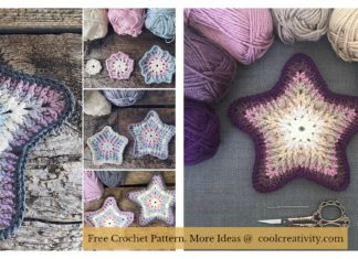 Sea Star Coaster Free Crochet Pattern