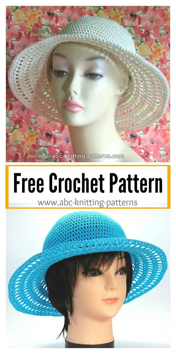 Summer Breeze Hat Free Crochet Pattern