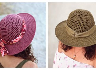 Summer Sun Hat Free Crochet Pattern