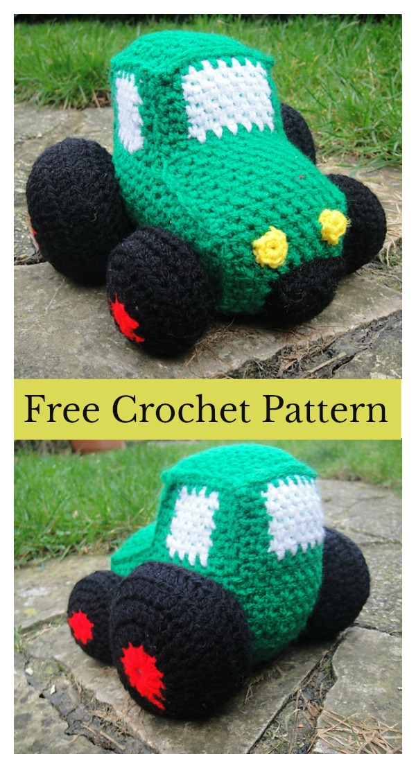 Vehicle Amigurumi Soft Toy Free Crochet Pattern