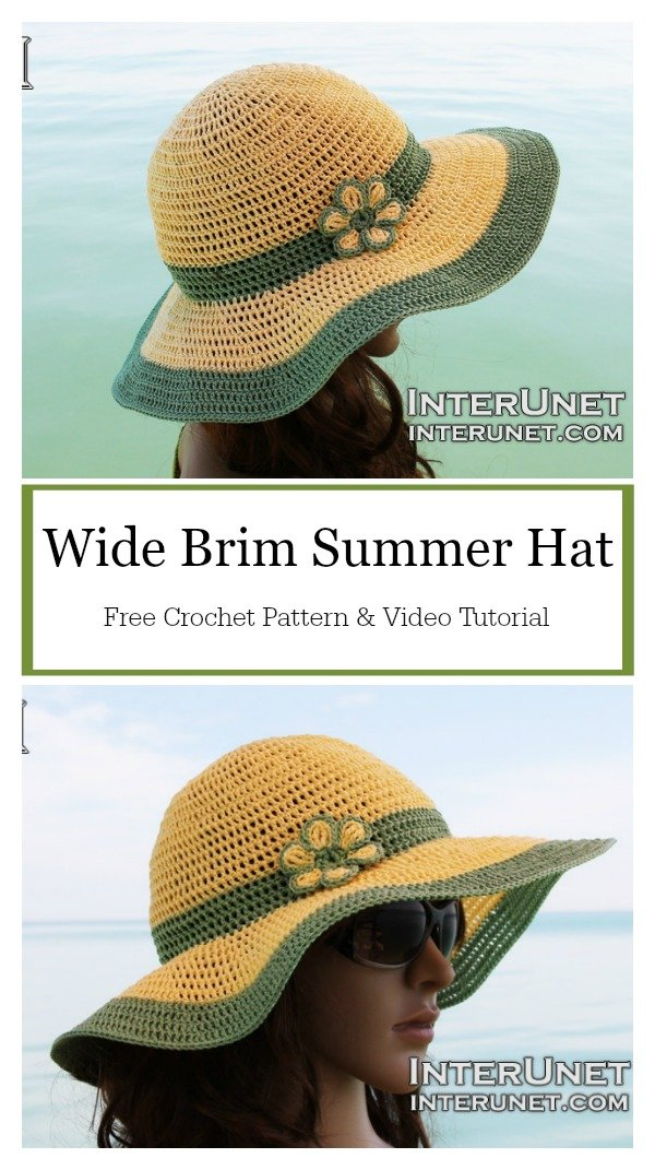 Hat Crochet Beginner Free Pattern