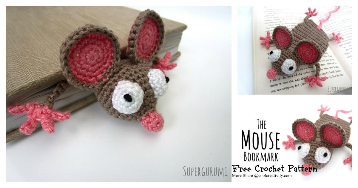 Amigurumi Crochet Frog Bookmark | 630x1200