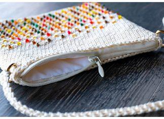 Beads Bag Free Crochet Pattern