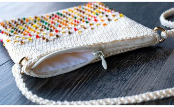 Beads Bag Free Crochet Pattern