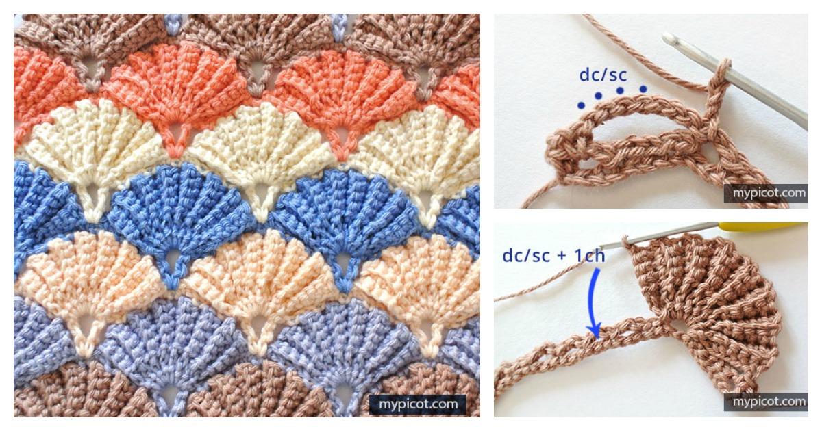 Beautiful Shell Stitch Free Crochet Pattern