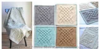 Celtic Tiles Blanket Free Crochet Pattern