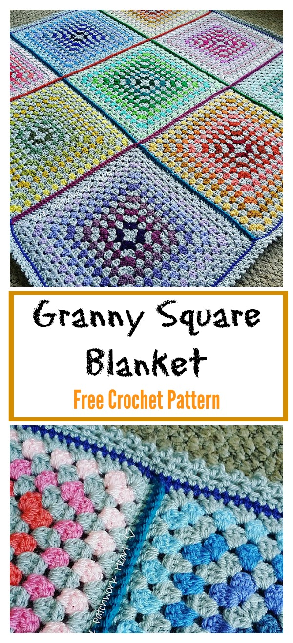 Granny Square Afghan Pattern Interesting Decorating