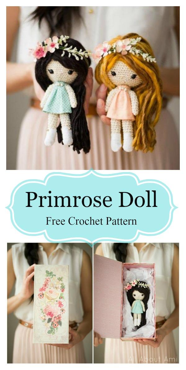 Primrose Doll Amigurumi Free Crochet Pattern