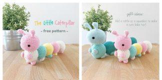 The Little Caterpillar Amigurumi Free Crochet Pattern