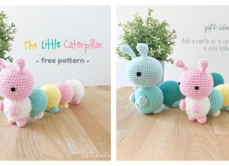 The Little Caterpillar Amigurumi Free Crochet Pattern