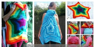 Baby-wearing Star Blanket Crochet Pattern