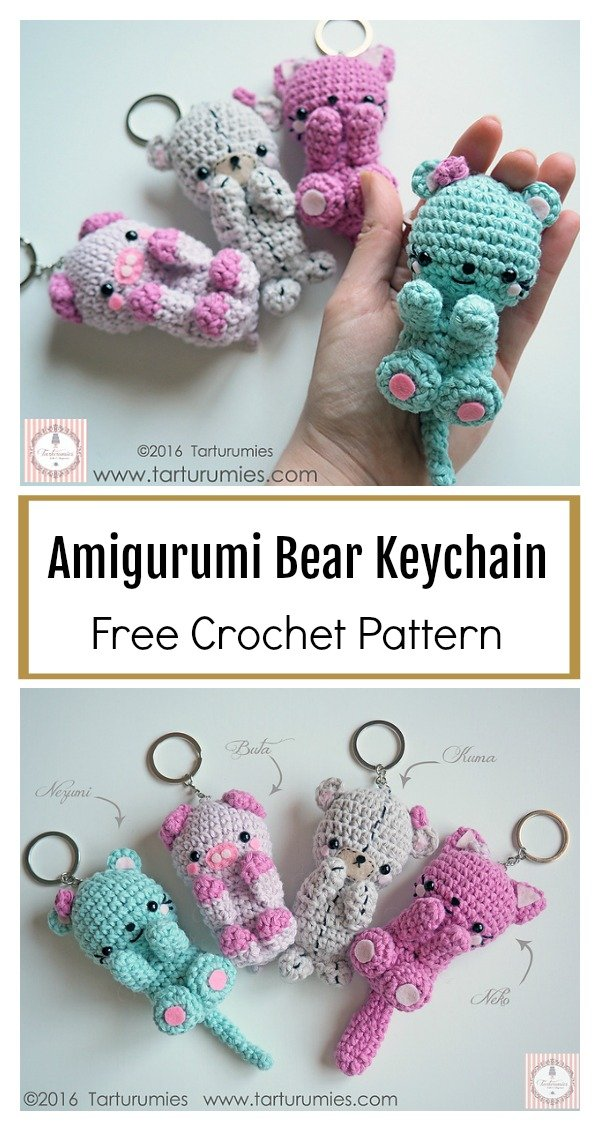 Free Amigurumi Bear Crochet Pattern for 2020 - Free Amigurumi ... | 1131x600