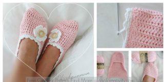 Cute Slippers Free Crochet Pattern