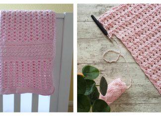 Iris Stitch Baby Blanket Free Crochet Pattern