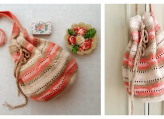 Seaside Handbag Free Crochet Pattern