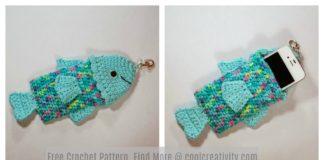 Summertime Fishy Phone Case Free Crochet Pattern