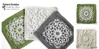 Casablanca Square Free Crochet Pattern