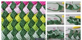 Celtic Basket Weave Stitch Free Crochet Pattern