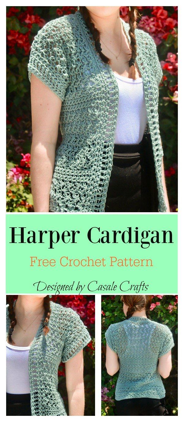 Harper Cardigan Sewing Pattern