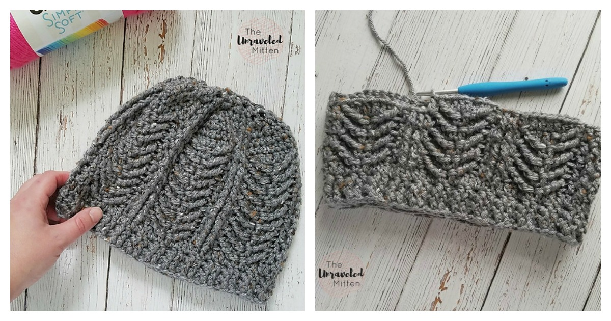87a5b2c2119 Mackinac Beanie Free Crochet Pattern