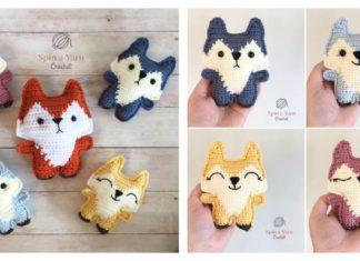Pocket Fox Free Crochet Pattern