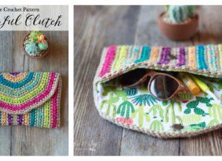 Rica Colorful Purse Free Crochet Pattern