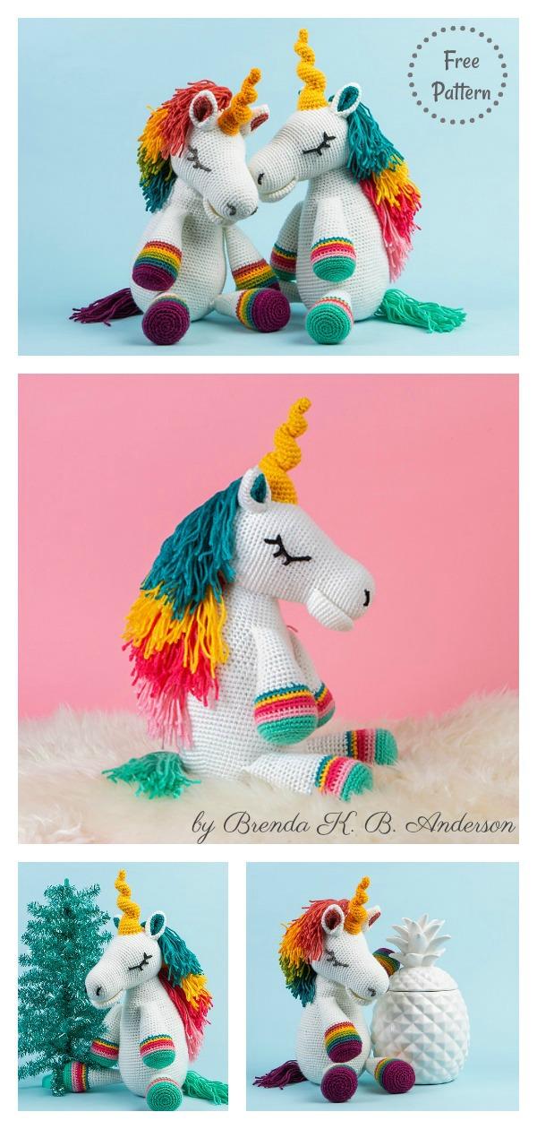 Amigurumi Unicorn Crochet Pattern - Crochet News | 1260x600