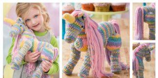 Amigurum Unicorn Toy Free Crochet Pattern
