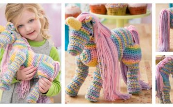Amigurum Unicorn Toy Free Crochet Pattern