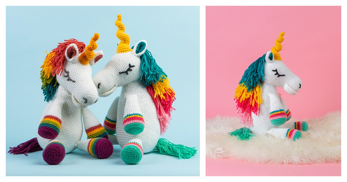 Unicorn Crochet Pattern Ideas You'll Love | The WHOot | 630x1200