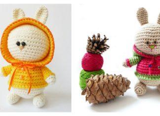 Amigurumi Bunny in Hoodie Free Crochet Pattern