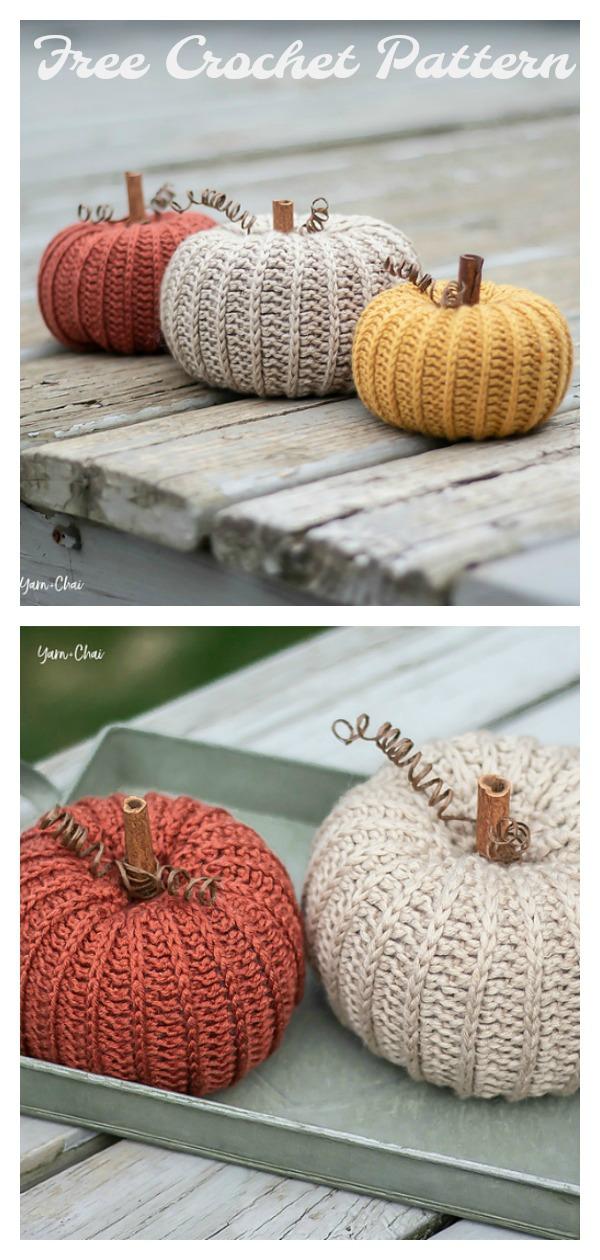 Autumn Pumpkin Free Crochet Pattern