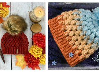 Baby Puff Stitch Hat Free Crochet Pattern