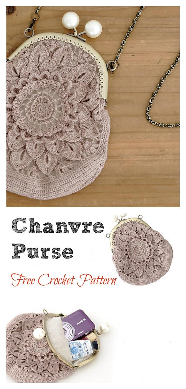 Flower Coin Purse Free Crochet Pattern