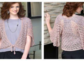 Flutter Cardigan Free Crochet Pattern