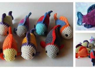 Little Fish Amigurumi Free Crochet Pattern