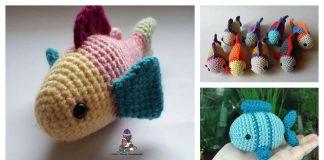 Little Fish Amigurumi Free Crochet Pattern